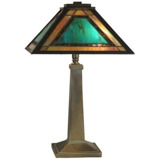 Dale Tiffany Verde Mission Table Lamp   #X3254