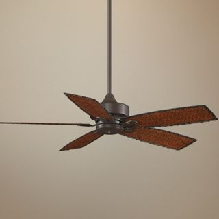 "52"" Fanimation Cancun Bamboo Blade Wet Rated Ceiling Fan   #T3048"