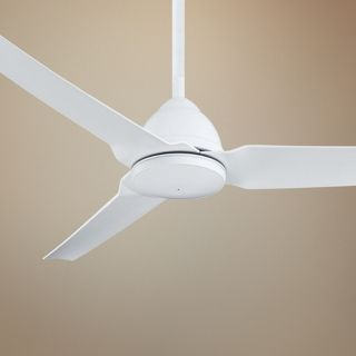"54"" Minka Aire Java Flat White  Indoor/Outdoor Ceiling Fan   #X0004"