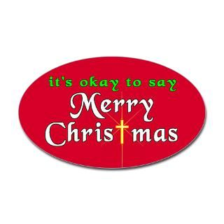 merry christmas oval sticker $ 4 49 color white clear qty availability