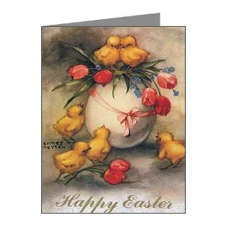 Gifts  Chicks Note Cards  Vintage Easter Note Cards (Pk of 10