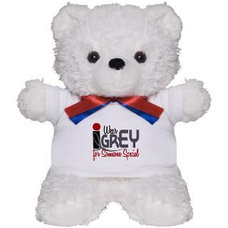 Wear Grey For Someone Special 32 Teddy Bear for $18.00
