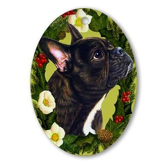French Bulldog Christmas Christmas Ornaments  Unique Designs