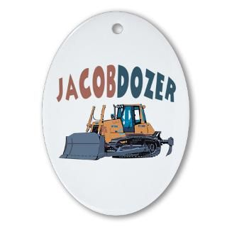 Bulldozer Christmas Ornaments  Unique Designs
