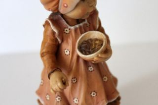 Kay 6 3 4 Ginger Snap Wood Carved Figurine Design Valentine Le