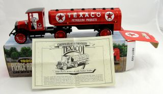 Texaco Pierce Arrow Tanker 1923 Agway Truck 1925 Kenworth Stake Truck