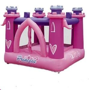 Princess Pink Inflatable Bounce House Girl Gifts for Kids