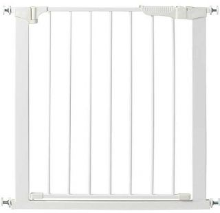 Kidco G1100 Auto Close Gateway Pressure Mount Child Safety Gate White