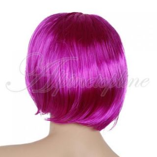 Punk Short Bob Hair Wig Cosplay Haircut Party Costume