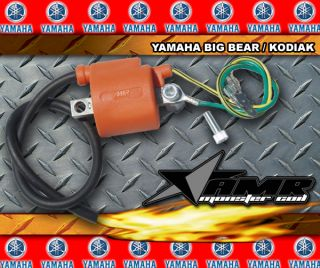 PERFORMANCE MONSTER IGNITION COIL YAMAHA KODIAK, BIG BEAR UPGRADE