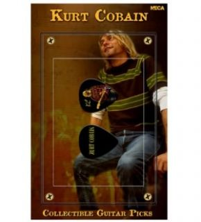 NECA Nirvana Kurt Cobain Guitar Pick Set w Red Sweater