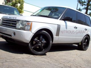 22 Range Land Rover Disco II Wheels BMW x5 Discovery LR3 Tires LR4 3 0