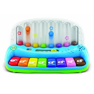 LeapFrog Poppin Play Piano Rainbow Musical Learning Toy New