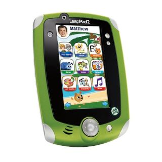Leap Frog LeapPad 2 Green Pad Tablet Brand New Very Fast Shipping