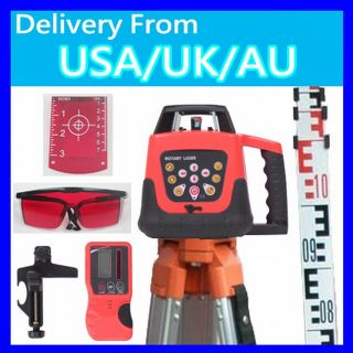 Self Leveling Rotary Laser Level 500M Range Staff Tripod P2