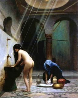 Moorish Bath Jean Leon Gerome Repoduction
