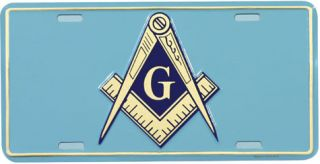 Masonic Aluminum Auto License Plate Car Truck Tag Metal Sign New Lodge