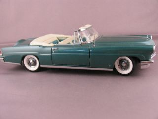 1956 Lincoln Continental MK II Convertible   Franklin Mint LE   LECC V