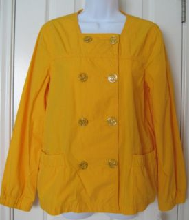 Michael Kors Taxi Yellow Lightweight Jacket $159