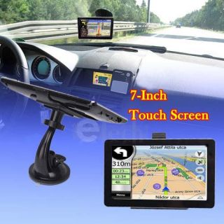 inch TFT Touch Screen Bluethooth Car GPS Navigator New