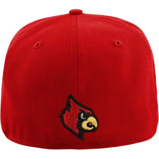 Louisville Cardinals New Era 59Fifty Basic Fitted Hat