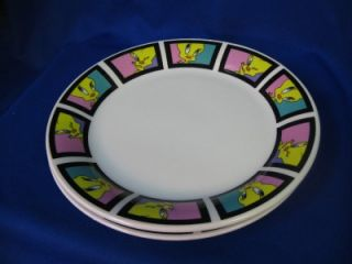 Gibson Looney Tunes 2001 Warner Bros Tweetie Bird Plate