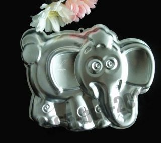 3D Elephant Cake Pan Tin Mold Fondant Decorating Baking Mould Tool