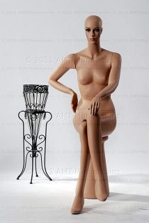 Female Mannequins Display Sitting Dummy Mannequin Emily