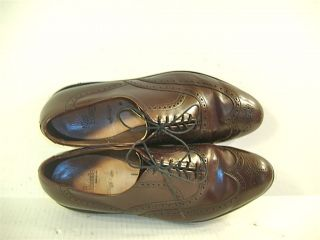 Smart Allen Edmonds Chester Cordovan Leather Oxford Shoes 10 5