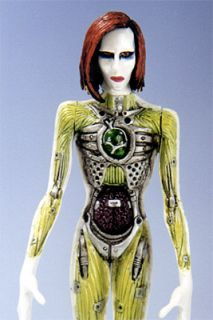 Marilyn Manson Mechanical Animals Figure Fewture Models