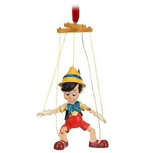 New  Pinocchio Marionette 2011 Xmas Tree Ornament Puppet