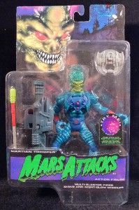 Mars Attacks Martian Trooper Topps 6 Action Figure