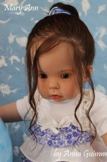 Toddler Girl Tibby by Donna RuBert Now Mary Ann 31 Human Hair