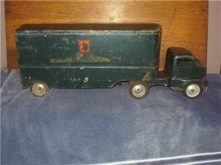 Vintage Tonka Marshall Field Toy Truck Pressed Steel 1950S