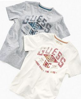 GUESS Kids Shirt, Boys GUESS 1981 Tee   Kids Boys 8 20