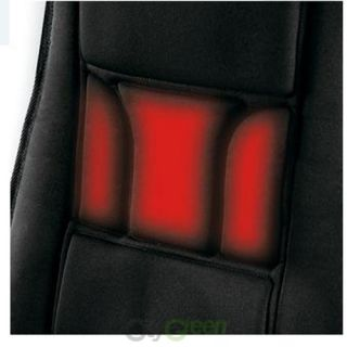 Body Benefits Heated Massaging Seat Cushion 4 Massage Motors