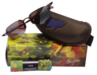 Maui Jim Sandy Beach Sunglasses Tortoise Rose R408 10