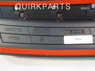 2011 2012 mazda2 rear bumper guard oem new genuine mazda part number