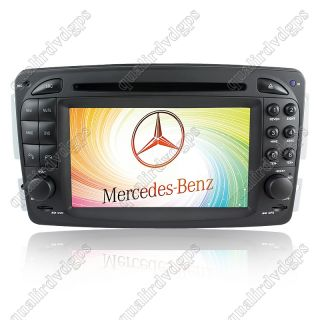 DVD GPS navi Radio multimedia player for Mercedes Benz Viano/CLK  C209