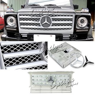 2002 2008 MERCEDES BENZ G GLASS FRONT GRILLE