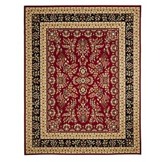 MANUFACTURERS CLOSEOUT Safavieh Rugs, Lyndhurst LNH331B Red/Black