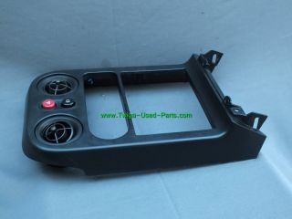 Miata MX5 AC Vents Radio Stereo Bezel Trim Panel 90 91 92 93