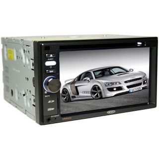 Jensen VM9224 Double DIN Car DVD CD  WMA Radio with 6 2 TFT LCD