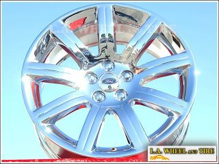 New 19 Ford Flex Chrome Wheels Rims Mustang Edge