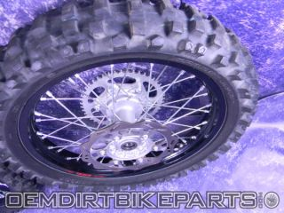 Excel Black Wheel Set Front Rear Rim YZ250F 2009 10 11 12 2013