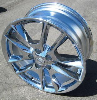 FACTORY NISSAN MAXIMA OEM CHROME WHEELS RIMS 2009 2012 EXCHANGE STOCK