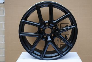 IS250 AWD GS300 GS400 SC300 sc400 RX330 Black 5 Lug Wheel Rims