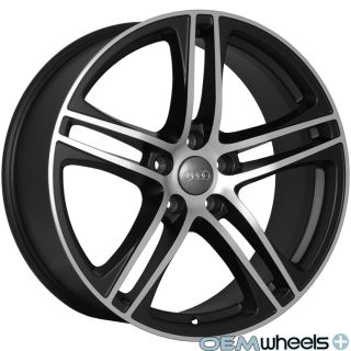 MACHINE S LINE R8 STYLE WHEELS FITS AUDI Q5 QUATTRO VW TIGUAN TDI RIMS