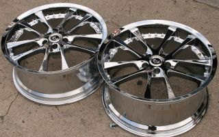 ST10 20 Chrome Rims Wheels Benz SL500 SL600 20 x 8 5 9 5 5H 20