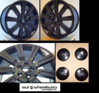 22 Stormer Rims for Range Land Rover HSE LR3 Set of Four Rims and